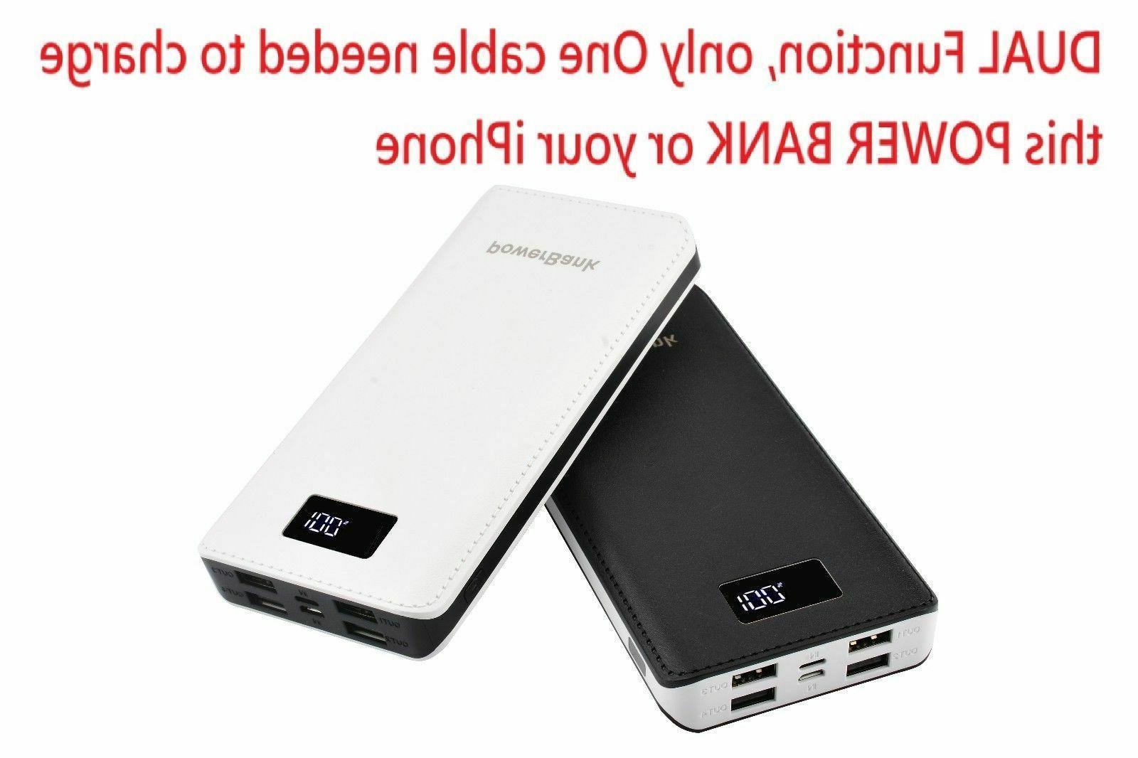 USA Power Bank 4 USB Mobile