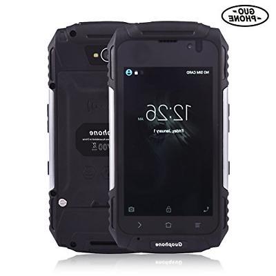 Hipipooo V88 Waterproof Dustproof Shakeproof Smartphone Rugg