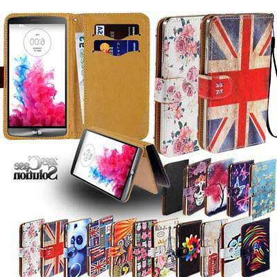 various lg mobile phones leather wallet
