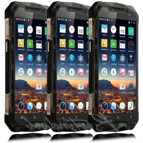 waterproof phone 5 touch dual sim shockproof