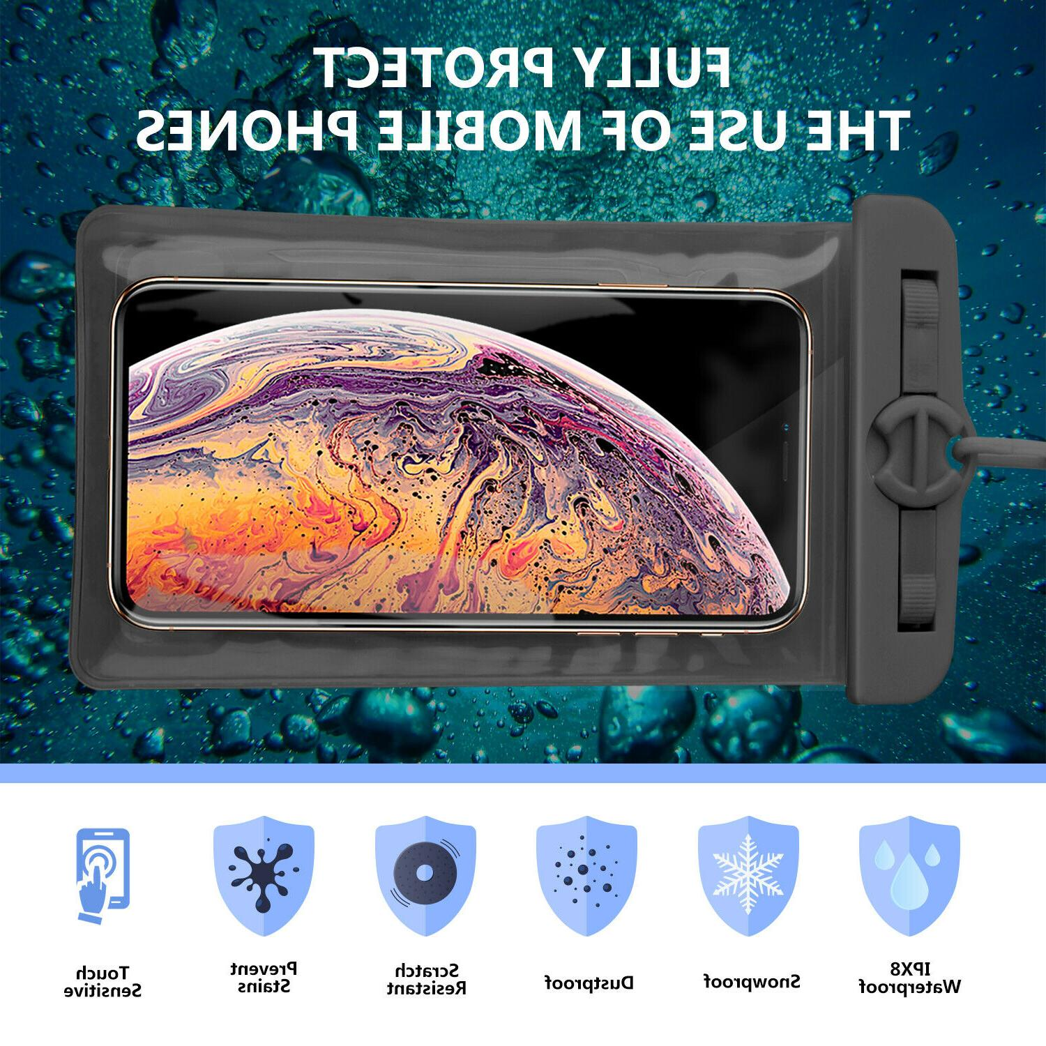 Waterproof Swimming Bag Case iPhone/Samsung/Cell Phone