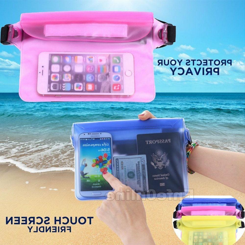 waterproof waist pouch bag dry underwater case