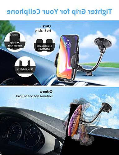 Mpow 073AB Phone Cell Holder Car, Arm Compatible Plus, LG, Huawei More