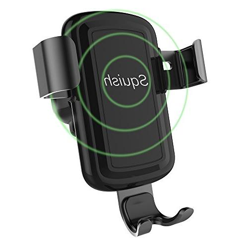 wireless charger car mount adjustable