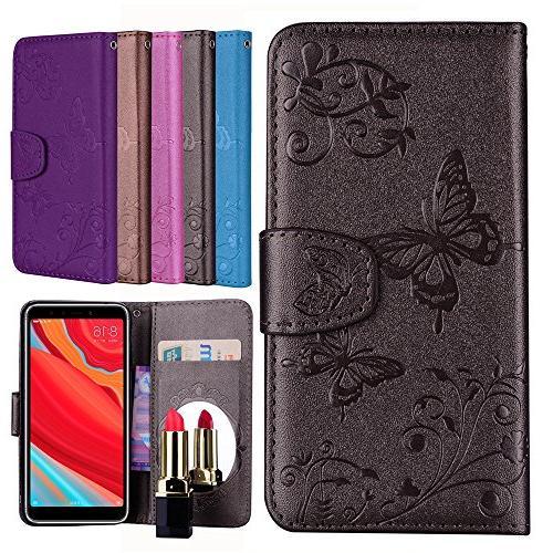 xiaomi redmi s2 wallet leather