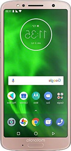 Motorola G6 – 32 GB – Unlocked  – Oyster Blush -  - PA