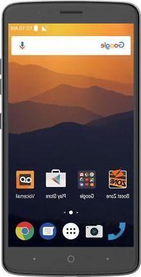 ZTE Max XL 16GB - Prepaid - Carrier Locked