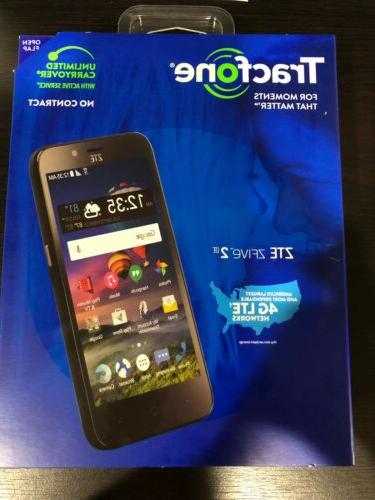 zte zfive2 lte prepaid smartphone