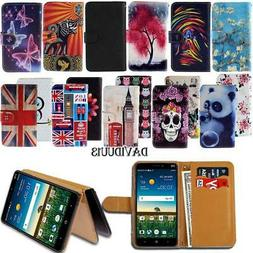 Leather Smart Stand Wallet Case Cover For Various ZTE Mobile