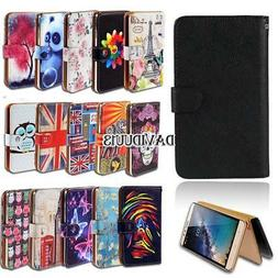 Leather Smart Stand Wallet Case Cover For Various Hisense Mo