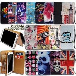 Leather Wallet Card Stand Flip Case Cover For Various NUU Mo