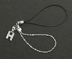 Letter H Crystals Cell Phone Charm For Mobile Phone New