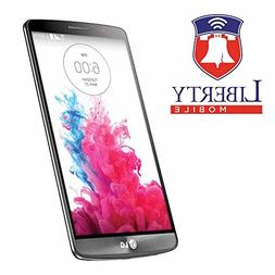 Liberty Mobile LG 3 LS990-4G LTE Prepaid Phone - Includes 30