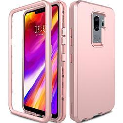 LG G7 ThinQ Case, LG G7 Plus Case, AMENQ 3 in 1 Heavy Duty F