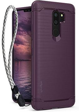 LG G7 / LG G7 ThinQ Case, Ringke  Brushed Metal Design  Dyna