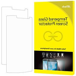 LG G3 Screen Protector, JETech 2-Pack Premium Tempered Glass