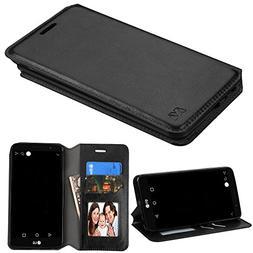 LG Stylo 3  Case, LG Stylo 3 Plus Case, TJS Hybrid PU Leathe