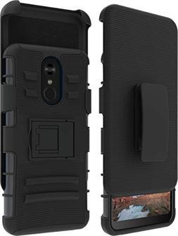 LG Stylo 4 Case, LG Stylus 4 Case, Belt Clip Holster Combo,