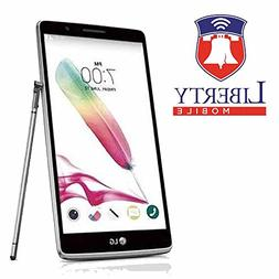 Liberty Mobile LG Stylo LS770-4G LTE Prepaid Phone - Include