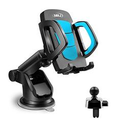 LilBit Car Phone Mount 2 in 1, Universal Air Vent Holder and