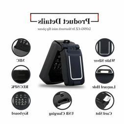 LONG-CZ J9 Mini Flip Phone Bluetooth Dialer Smallest Mobile