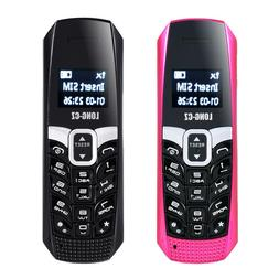 LONG-CZ T3 smallest mobile phone bluetooth dialer music FM m