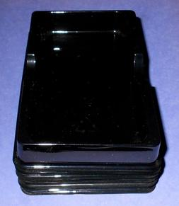 Lot of 10 Generic Cell Phone Black Plastic Shipping Trays 5-