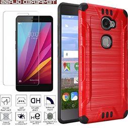 Huawei Sensa 4G LTE  H710VL H715BL / Honor 5X Armor Case Hea