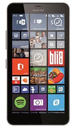 Microsoft Lumia 640 XL GSM Single-SIM Unlocked Smartphone, Q