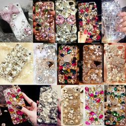 Luxury Gems Diamond Crystal Bling Rhinestone Hard Case Cover