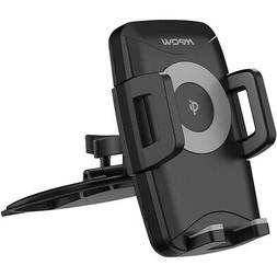 Mpow - M3.1 Car Holder/Charger for Mobile Phones - Black