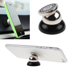 Magnetic Car Cell Phone Holder Mount Dash 360° Rotating For