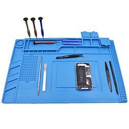 Magnetic Heat Insulation Silicone Mat Repair Kit,Heat-resist