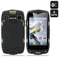 MANN ZUG 3 Android 4.3 Smartphone - 4 Inch Display, Waterpro