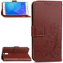 Meizu M6 Note Case,Gift_Source  Flip Wallet Case Premium Sof