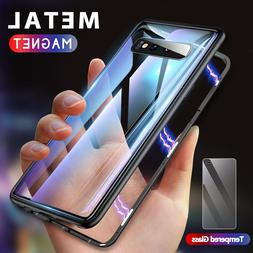 GETIHU Metal Magnetic Case For Samsung Galaxy S10 Edge S9 S8