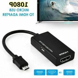 MHL Micro USB to HDMI Adapter Converter Cable for Android Ce
