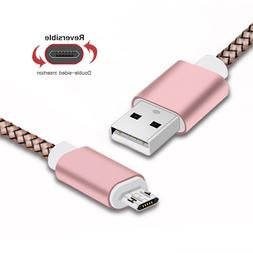 Micro USB Cable 1M Double-Sided for Xiaomi Redmi Note 5 Pro