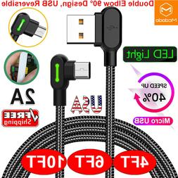 Micro USB Cable Fast Charging Charger Phone Cable For Samsun