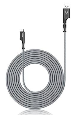 Micro USB Charger Cable, UNISAME 10Ft Heavy Duty Nylon Braid