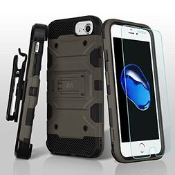 Military Grade Storm Tank Hybrid Case with Holster and Tempe