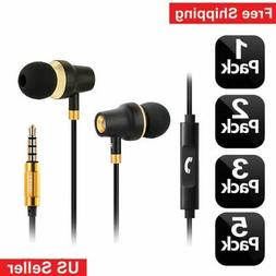Mini 3.5mm Stereo Earbuds Earphone Headset In-ear For Cell P