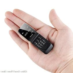 "Mini Flip Mobile Phone LONG-CZ J9 0.66"" Smallest Cell Phone"