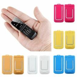 Mini Flip Mobile Phone Long Cz J9 0.66inch Smallest Bluetoot