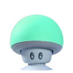 Hipipooo Mini Mushroom Portable Wireless Bluetooth V2.1 Spea