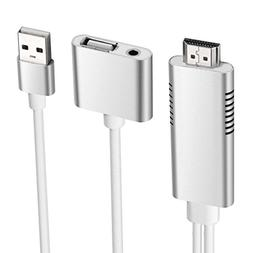 HD Mirroring Cable, Elegant Choise Smart Lightning Cable to