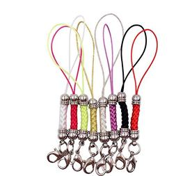 Dcatcher Mixed Colors Mobile Cell Phone Cords Charms Strap L