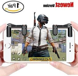 1 pair Mobile Game Fire Button Aim Key Smart phone and game
