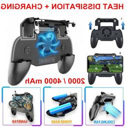 Mobile Phone Game Controller Joystick Cooling Fan Gamepad fo
