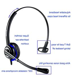 MAIRDI Mobile Phone Headset with Nosie Cancelling Mic 3.5mm